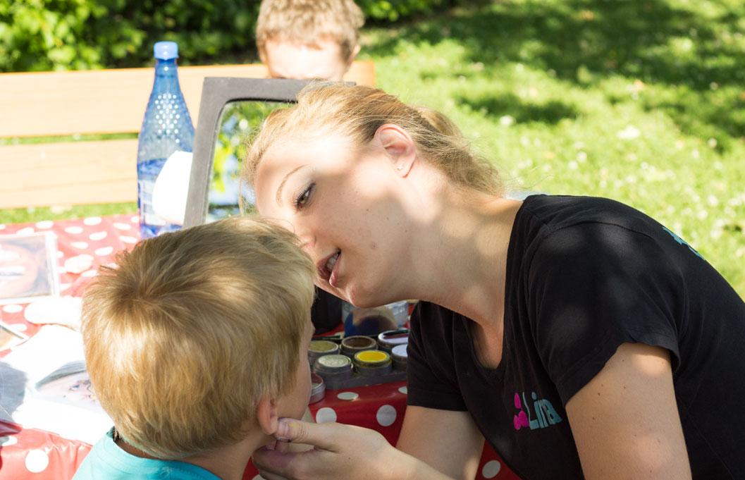 Kinderschminken-Wien